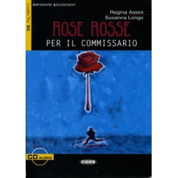 Rose rosse per i l commissario+CD audio.Liv.Tre B2