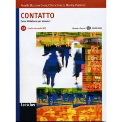 Contatto 2A Manuale+Eserciz+CD Audio
